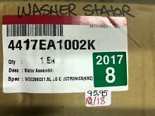 LG WASHER STATOR ASSY 4417EA1002K FREE SHIPPING NEW PART