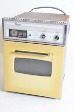 Vintage Oven Whirlpool Wall Yelllow Old Fashioned Appliance