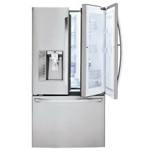 LG 29 6 cu Ft  French Door Refrigerator With Ice Maker