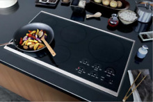 Wolf CT36IS 36 Inch Smoothtop Induction Cooktop 5 Induction Elements