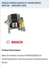 Bosch Wfmc3200 01 Washing Machine Motor