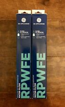 GE RPWFE Refrigerator Filter Qty  2 Brand New With FREE PRIORITY SHIPPING