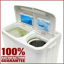 Portable Washing Machine Dryer Spin Small Compact Mini Electric Dorm Apartment