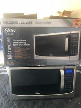 Oster Design for Life 1 6 cu ft Stainless Steel Digital Microwave Oven