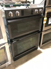 Samsung NQ70M7770DG 30  Black Stainless Combo Electric Wall Oven