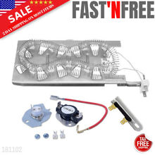 3387747 Dryer Heating Element Kit Thermostat Thermal Fuse 11065962401 1063064100