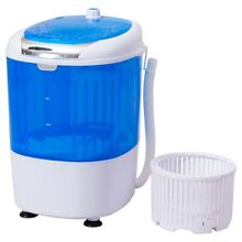 5 5 Lbs Portable Mini Semi Auto Washing Machine Compact Laundry Washer And Dryer