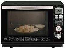 Sharp superheated steam oven 23L Black RE SS8C B