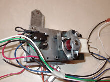 MOTOR ASSY AND WIRING FOR GE MONOGRAM ZVB30BB2BB 30  RETRACTABLE VENT
