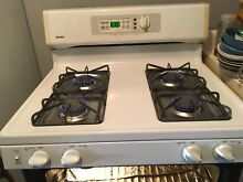 White Stove   self Cleaning  By Kenmore