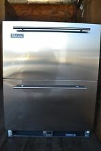 Perlick 24  Built In UnderCounter Stainless Steel Refrigerator Drawer HA24RB35