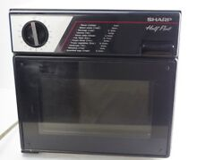 Sharp Half Pint Model R 4060 Dorm Room  Office  Camper  Apartment Microwave Oven
