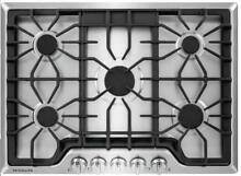 Frigidaire FGGC3047QS 30 in  Gas Cooktop Stainless Steel w 5 Burners