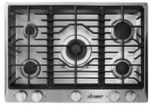 Dacor RNCT365GSNG 36  Gas 5 Burner Cooktop in Stainless Steel