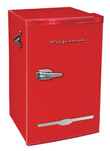 Retro Red Mini Fridge With Bottle Opener by Frigidaire 3 2 Cu Ft