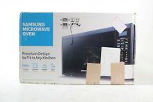 Samsung MS14K6000AS 1 4 cu  ft  Countertop Microwave Oven  MS14K6000AS AA   New