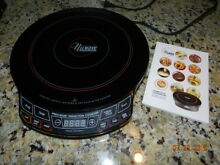 Nuwave precision induction cooktop clean 1300 watts Black