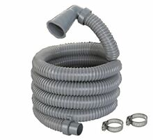 13ft Long Replacement Washing Machine Drain Discharge Hose 90 degree Elbow with