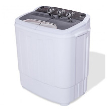 Top Load Washer and Spin Dryer Combo Portable Mini 8lbs Stackable Machine New