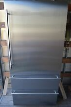 Liebherr 36  Stainless Steel Counter Depth Bottom Freezer Refrigerator CS2060