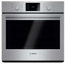 Bosch HBL5451UC 500 Series 30 Inch Single Electric Wall Oven Stainless Steel