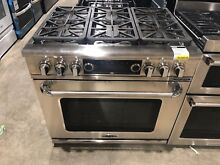 Capital CSB366L Connoisseurian Series 36 Inch Dual Fuel Range