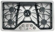 GE Cafe  Series 36  Gas Cooktop Stainless Steel CGP650SETSS AH710629Q