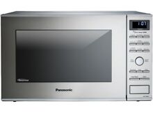 Panasonic 1 2 Cu  Ft  Built In Countertop Microwave Oven with Inverter Technolog