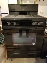 Whirlpool 5 0 Cu Ft  Freestanding Gas Range with Accubake Temperature BRAND NEW
