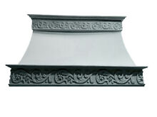 Stone Range Hood   Any Size Color   CAPPED VERONA   Easy Install  Samples