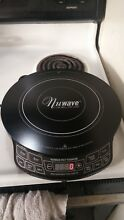 Nuwave Pic Titanium 30341 CR 1800W Portable Induction Cooktop Countertop Burner