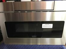 24  Sharp Insight Stainless Microwave Drawer  LCD Display Model  SMD2470AS