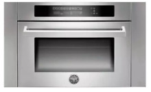 Bertazzoni SO24PROX 24  Combination Microwave Single Electric Wall Oven SS