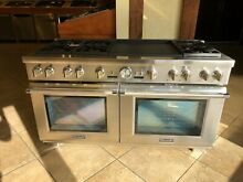 Thermador Pro Grand PRD606REG 60 Inch Dual Fuel Range  6 Burners
