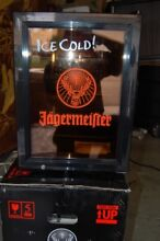 NEW Jagermeister Mini Fridge With Glass Door