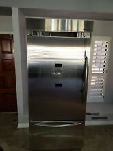 KitchenAid KBLC36MHS01 36  Counter Depth Built In Refrigerator    1150  OBO
