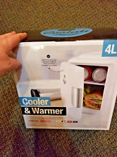 Cooluli Mini Fridge Electric Cooler and Warmer 4 Liter   6 Can  AC DC Portable