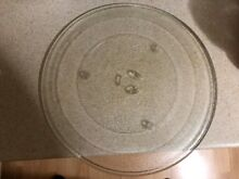 14 1 8  Amana Maytag Microwave Glass Plate with Turning Roller   DE72 60196 Used
