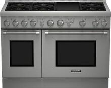 48  Thermador PRO Harmony Series Gas Range Model   PRG486GDH