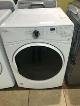 Whirlpool WGD85HEFW 27 Inch 7 4 cu  ft  Gas Dryer  EcoBoost  FREE SHIPPING