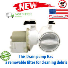 Washer Water Pump Motor Washing Machine Repair Part Kenmore HE2 Plus 8540028