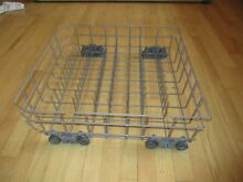 Kenmore Dishwasher Gray Lower Rack W10525641 with wheels