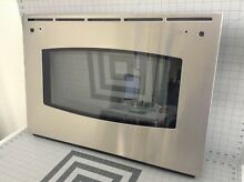 GE Range Oven Stainless Outer Door Glass Panel WB56T10122