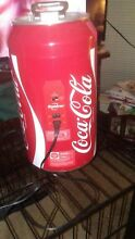 Portable Koolatron Coca Cola 8 Can 12 Volt Mini Fridge Dorm Room Bedroom Camper