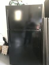 Kenmore 60419 18 Cu Ft  Top Freezer Refrigerator Black  One Year Old  Paid  699