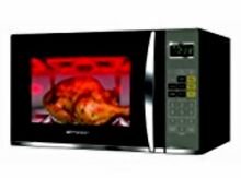 Emerson 1 2 Cu Ft Table Microwave Programable with Grill Black and Silver Finish