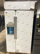 GE Profile 42  Built in Stainless Steel Dispenser Refrigerator PSB42YSKSS