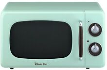 MAGIC CHEF 0 7 cu  ft  Countertop Microwave w  Variable Control Knob  Mint Green
