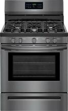 Frigidaire  30  Free Standing Gas Range Black Stainless Steel FFGF3056TD