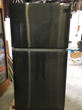 SAMSUNG Black Stainless Steel 21cf Top Mount Refrigerator RT21M6215SG